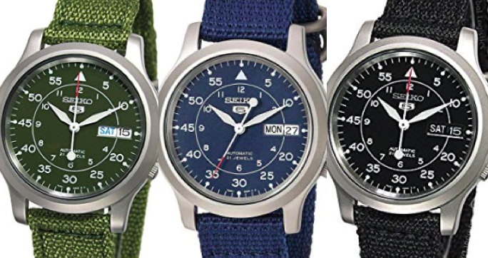 This Automatic Seiko is Just $65, and the Internet Loves It